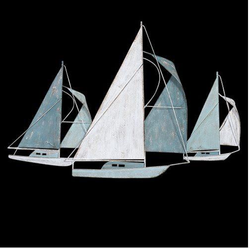 Metal Wall Art AC0842-Sail